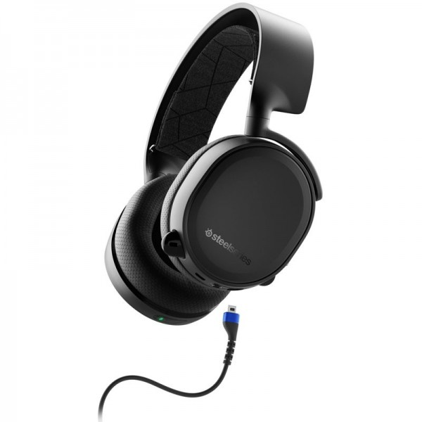 SteelSeries Arctis 3 Bluetooth 2019 (noir) Casques SteelSeries, Ultra Pc Gamer Maroc