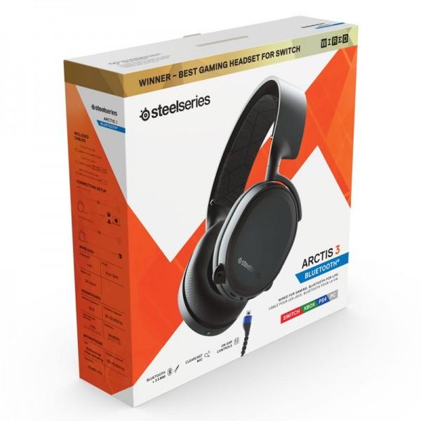 SteelSeries Arctis 3 Bluetooth 2019 (noir) Casques SteelSeries, Ultra Pc Gamer Maroc