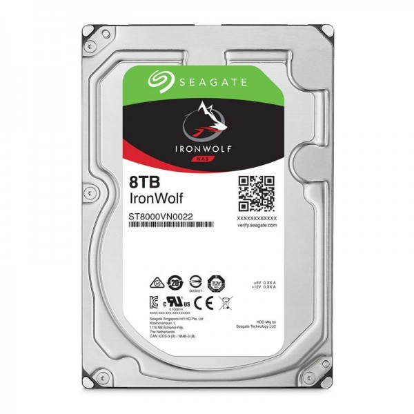 "Seagate IronWolf 3.5"" 8TB Disques durs et SSD Seagate, Ultra Pc Gamer Maroc"