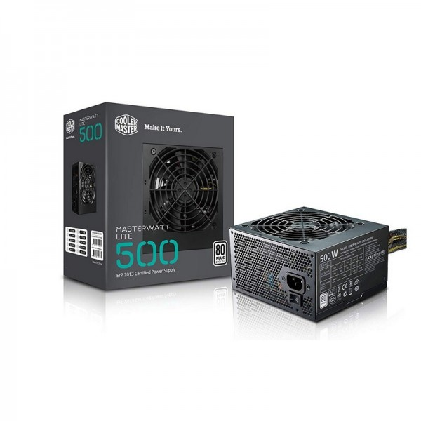 Cooler Master MasterWatt Lite 80PLUS 500W Alimentations PC Cooler Master, Ultra Pc Gamer Maroc