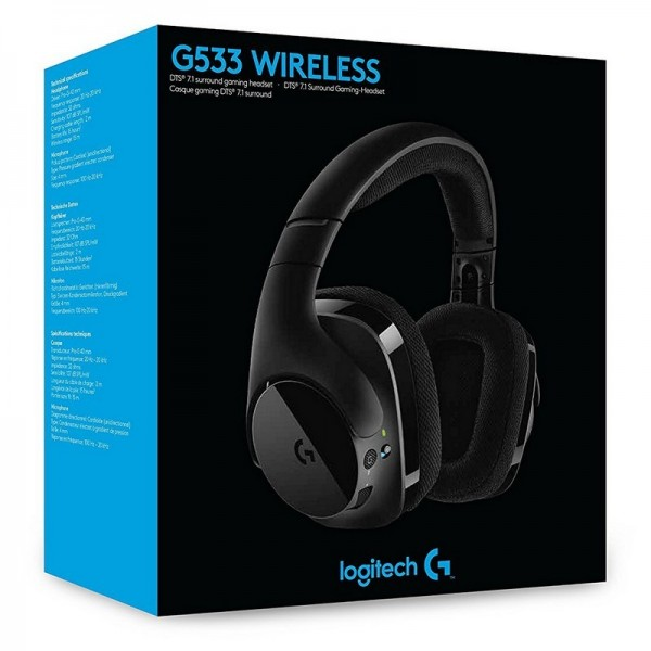 Logitech G533 Prodigy Wireless Gaming Headset Casques Logitech, Ultra Pc Gamer Maroc