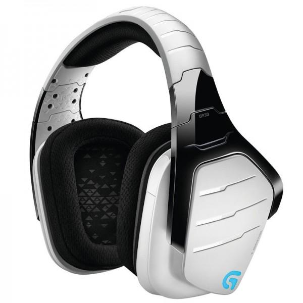 Logitech G933 Artemis Spectrum RGB Wireless 7.1 Surround Gaming Headset (Blanc) Casques Logitech, Ultra Pc Gamer Maroc