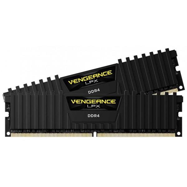 Corsair Vengeance LPX Series Black 32Go (2x 16Go) DDR4 3000 MHz CL16 Mémoire vive PC Corsair, Ultra Pc Gamer Maroc