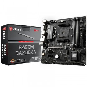 MSI B450M BAZOOKA V2 Cartes mères MSI, Ultra Pc Gamer Maroc