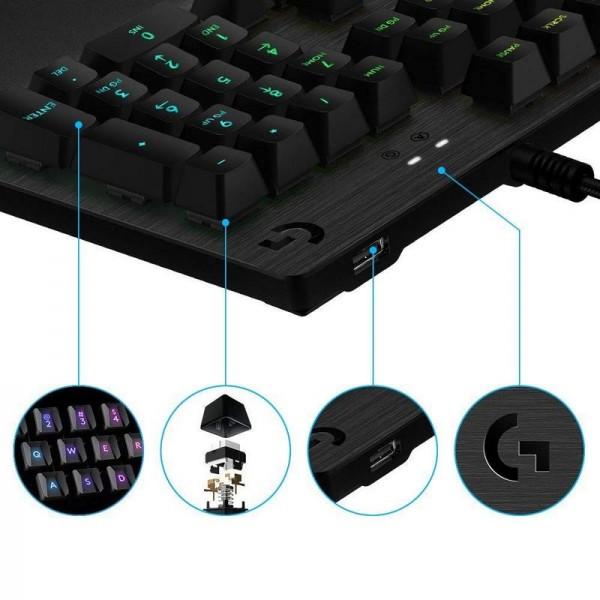 Logitech G513 RGB Switch Romer-G (Tactile Version) Claviers Logitech, Ultra Pc Gamer Maroc