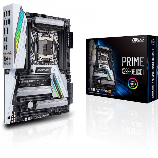 ASUS PRIME X299-DELUXE II Cartes mères ASUS, Ultra Pc Gamer Maroc